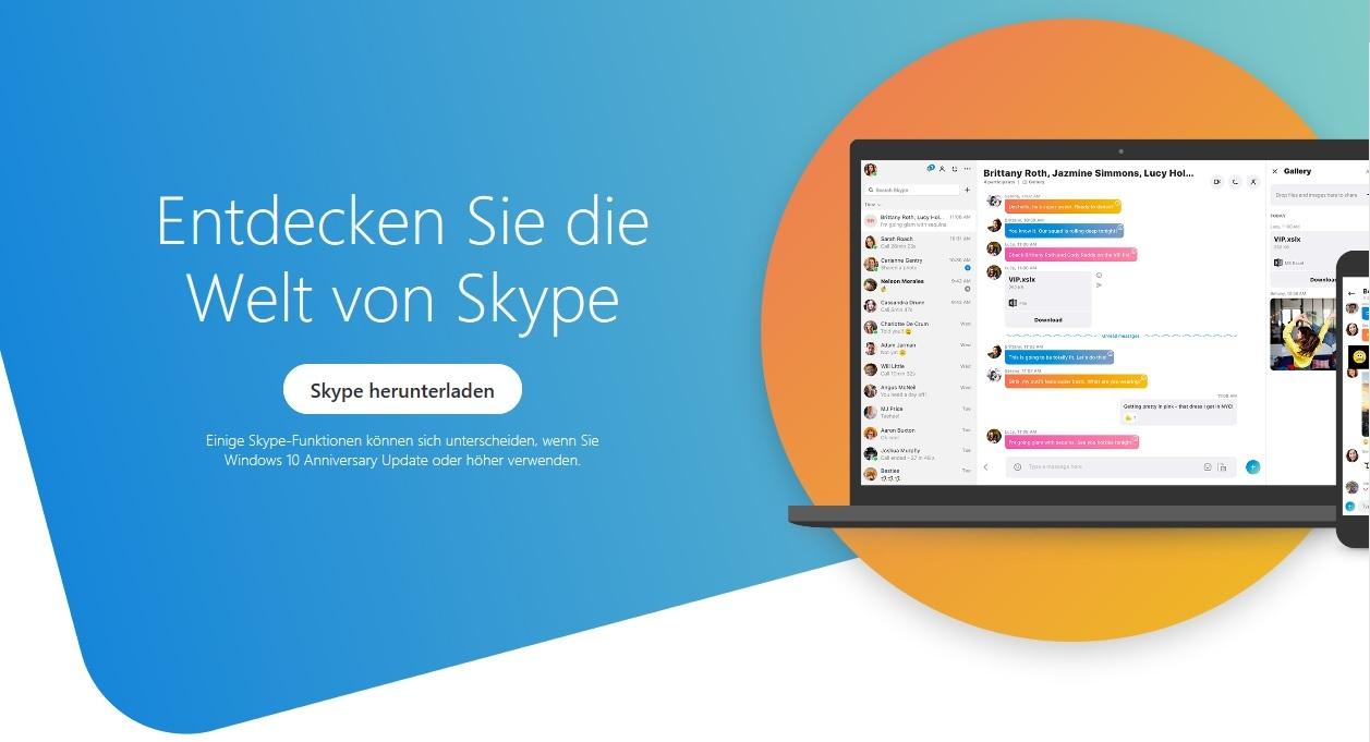 skype desktop download windows 10