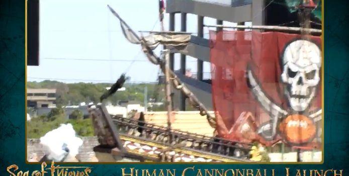 Sea of Thieves: 1 Million Spieler & Weltrekord mit menschlicher Kanonenkugel