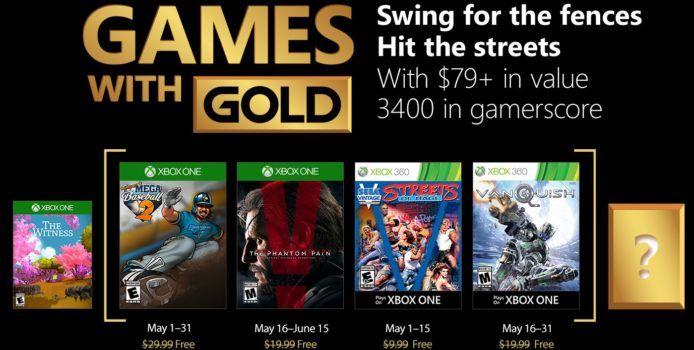 Xbox Games with Gold: Gratis Spiele im Mai 2018