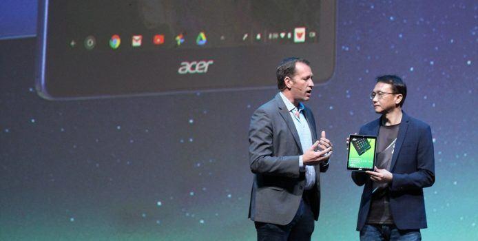 Acer Chromebook Tab 10 – Erstes ChromeOS-Tablet für Schulen