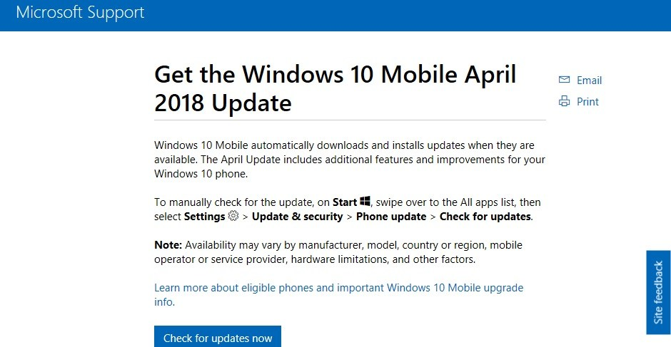 windows 10 patch tuesday april 2018