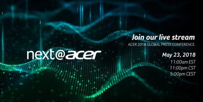 next@acer-Event in New York im Livestream ab 17 Uhr