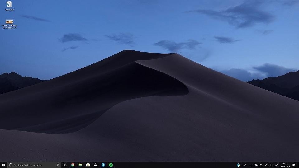 Windows hintergrund wuste