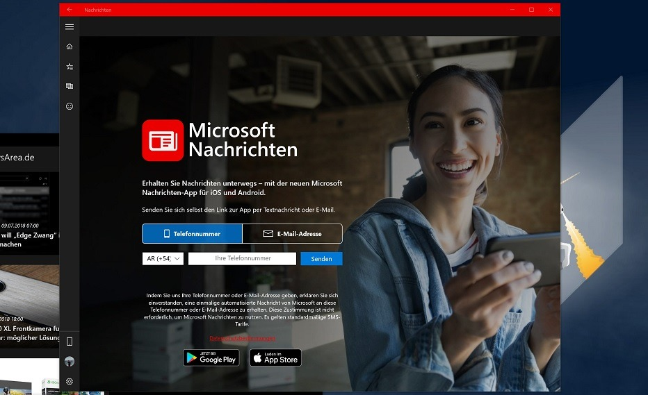 Nachrichten Microsoft