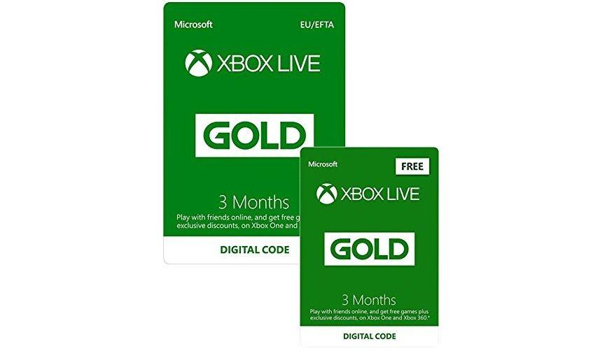 Game Deals 6 Monate Xbox Live Gold Und Verschiedene Games