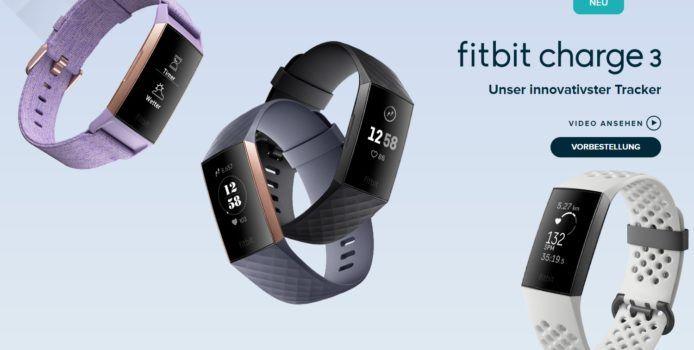 Fitbit Charge 3: Neuer Smartwatch-Fitnesstracker offiziell vorgestellt