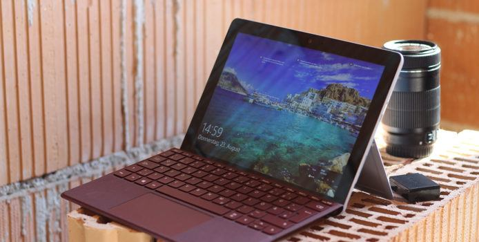 Probleme mit Windows 10 1809: Surface Go Helligkeit nicht einstellbar