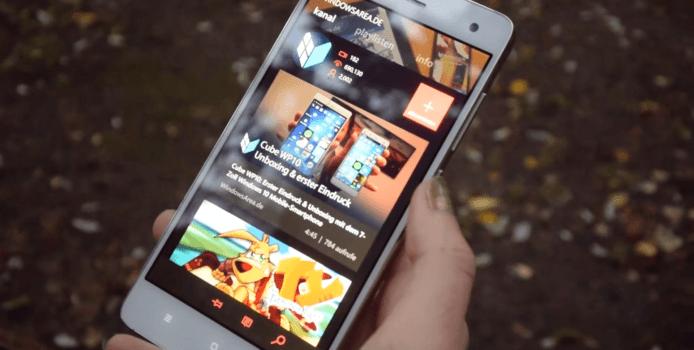 Windows 10 Mobile: YouTube-Links direkt in myTube öffnen