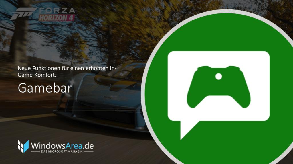 Windows 10 Oktober Update Gamebar. Neue Funktionen für einen erhöhten In-Game-Komfort.