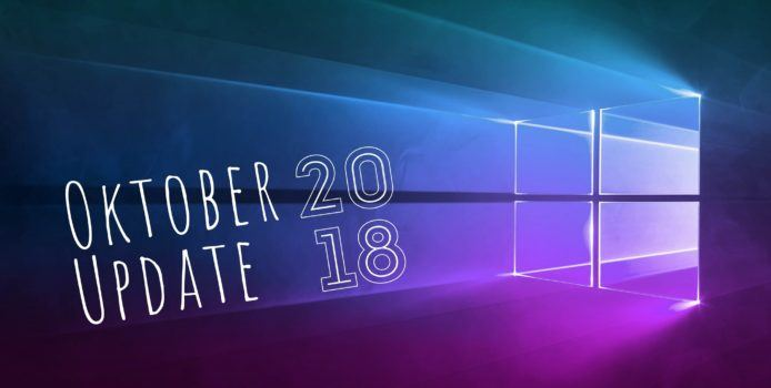 Automatischer Rollout des Windows 10 Oktober 2018 Update beginnt