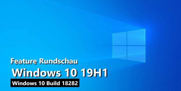 Windows 10 19H1 mit Windows Light-Theme in der Video-Rundschau