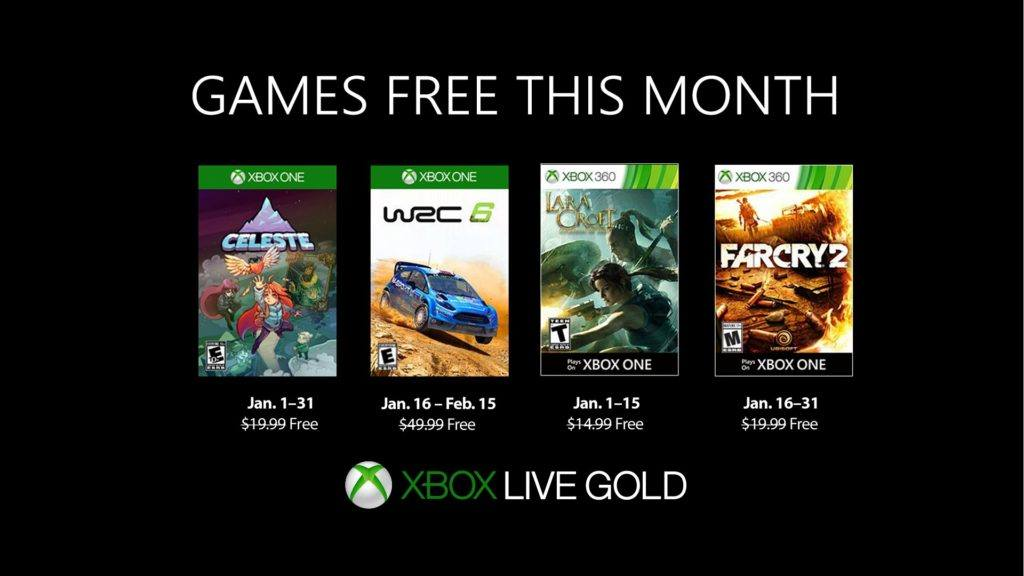 Xbox Games With Gold Gratis Spiele Im Januar 2019