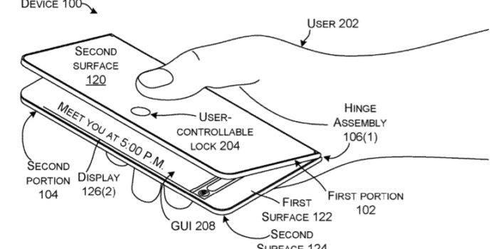 Microsoft patentiert neues faltbares Gerät für die Hosentasche