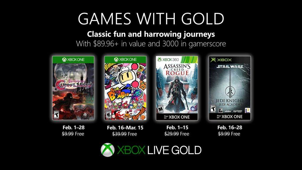 xbox games with gold gratis spiele im februar 2019. Black Bedroom Furniture Sets. Home Design Ideas