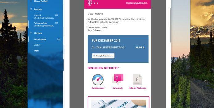 Spam-Warnung: Fake Telekom Rechnungen mit Virensoftware im Umlauf