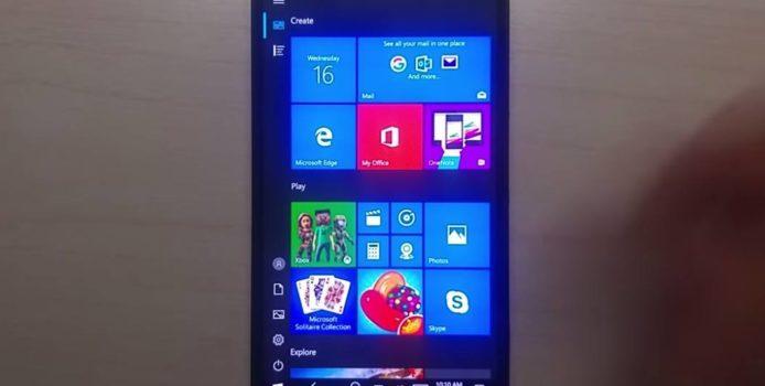 Neues Video zeigt Windows 10 ARM auf dem Lumia 950 XL