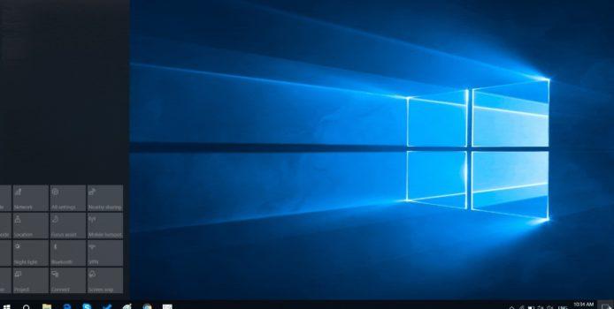 Windows 10 Version 1809: Action Center-Bug weiterhin nicht behoben