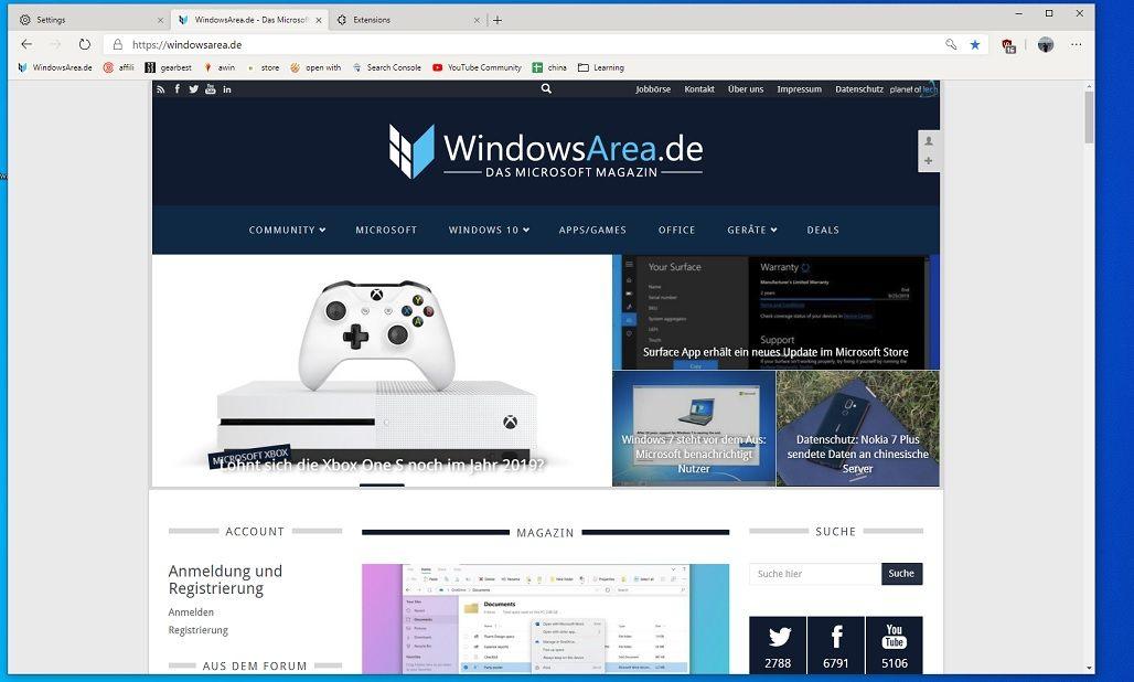 Microsoft Edge auf Chromium-Basis: Hier geht's zum Download
