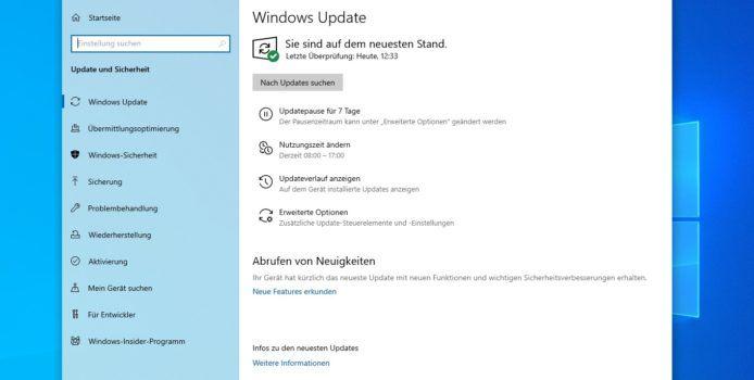 Windows 10: Nutzer berichten von Problemen mit August-Updates