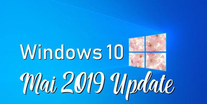 Windows 10 Mai 2019 Update: bekannte Probleme einsehen