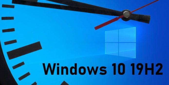 Windows 10 19H2: Entwicklung des Herbst-Updates schon jetzt hinter dem Zeitplan