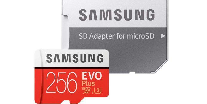 Deal: Samsung Evo Plus 256 Gigabyte MicroSD-Karte für 40 Euro