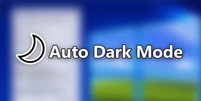 Auto Dark Mode 2.3: Wechselt jetzt auch das Hintergrundbild