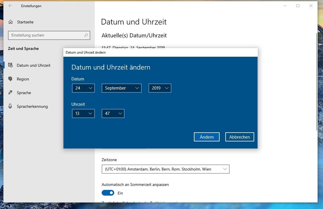 Windows 10 Benutzername Falsch