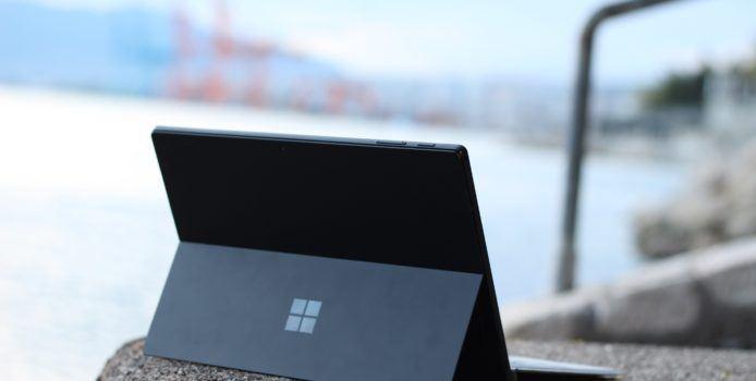 Surface Pro 6 bekommt ein kleineres Firmware-Update