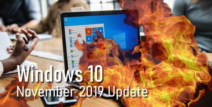 Windows 10 1909: Auto-Rollout für ältere Versionen beginnt