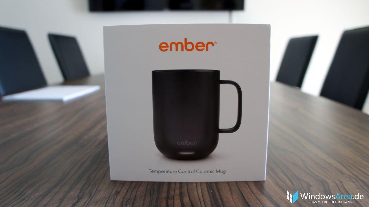 Ember Mug Test Verpackung