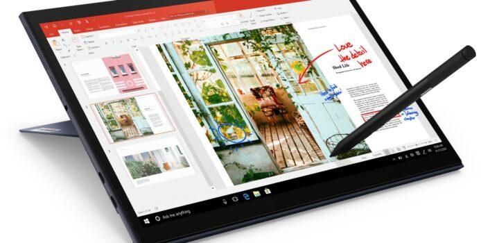 Lenovo frischt Surface-Klon Yoga Duet 7 für das Jahr 2021 auf