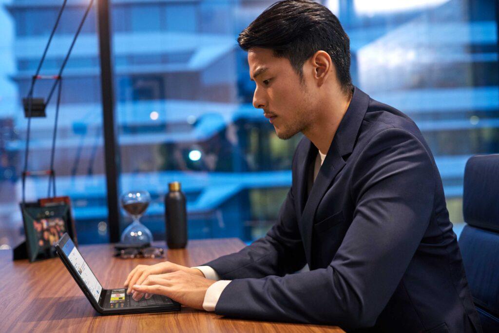 Lenovo ThinkPad X1 Fold mit Tastatur