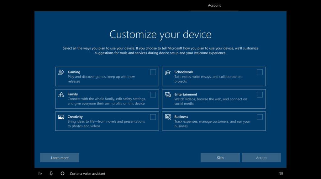 Windows 10 20231 Setup