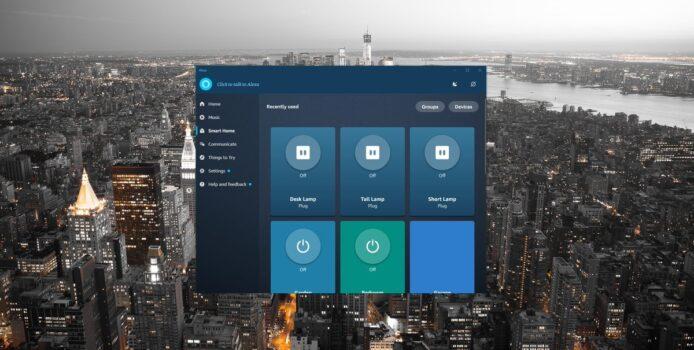 Alexa für Windows 10: Update bringt neuen Look und Features