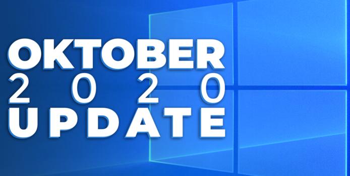Microsoft drosselt Windows 10 Oktober 2020 Update Verteilung