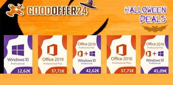 Halloween 2020 Sale: Holt euch Windows 10 ab nur 12,62 €