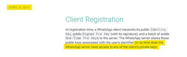 WhatsApp Ende-zu-Ende-Verschlüsselung Paper: Screenshot von der Version vom 4. April 2016