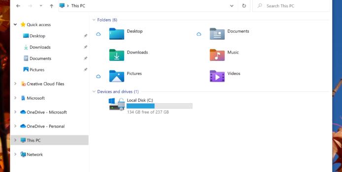 Microsoft zeigt neue Icons für den Windows Explorer