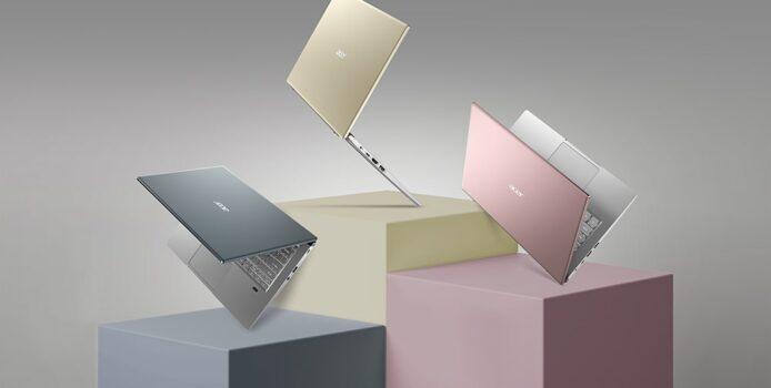 Acer Swift X: Schlankes Notebook mit Ryzen 5000 und RTX 3050 vorgestellt