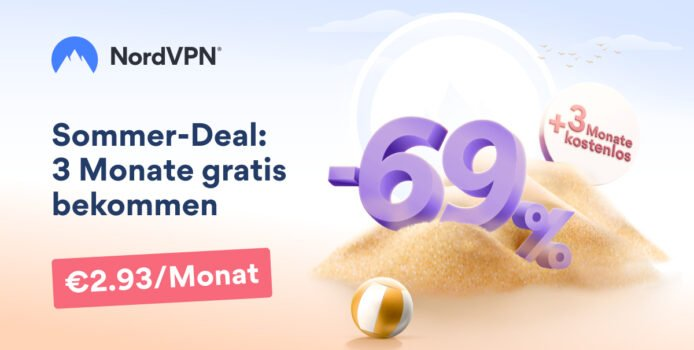 NordVPN im Deal: Premium-VPN aktuell 69 % günstiger
