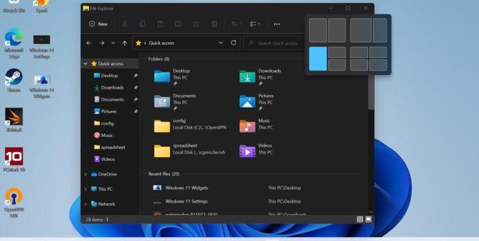 Die neuen Windows 11 Tastenkürzel in der Übersicht
