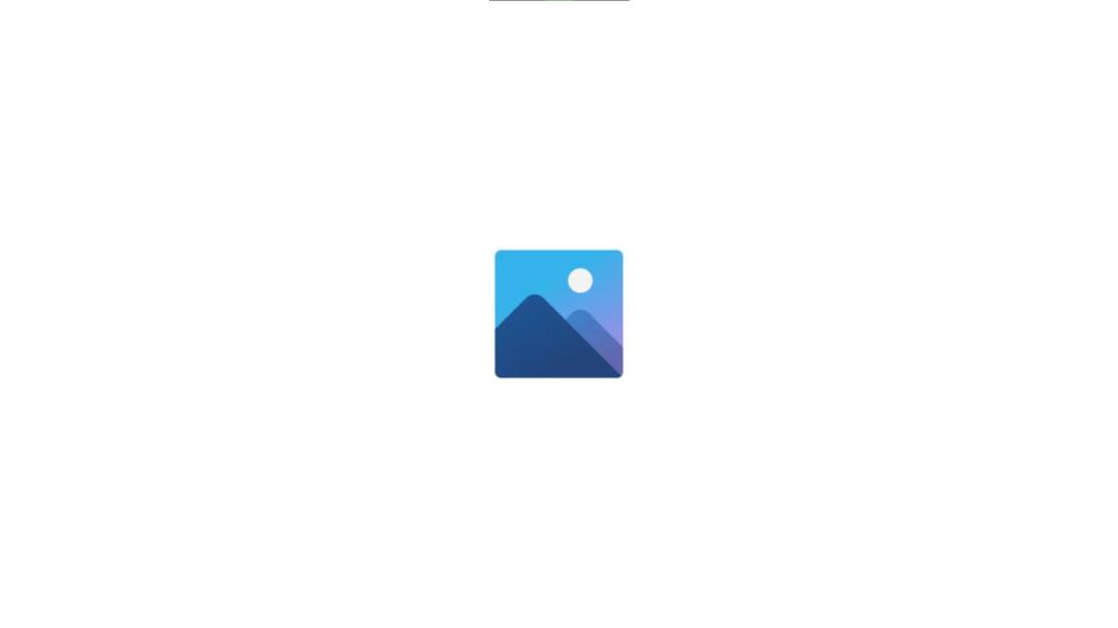Das Logo der Fotos-App