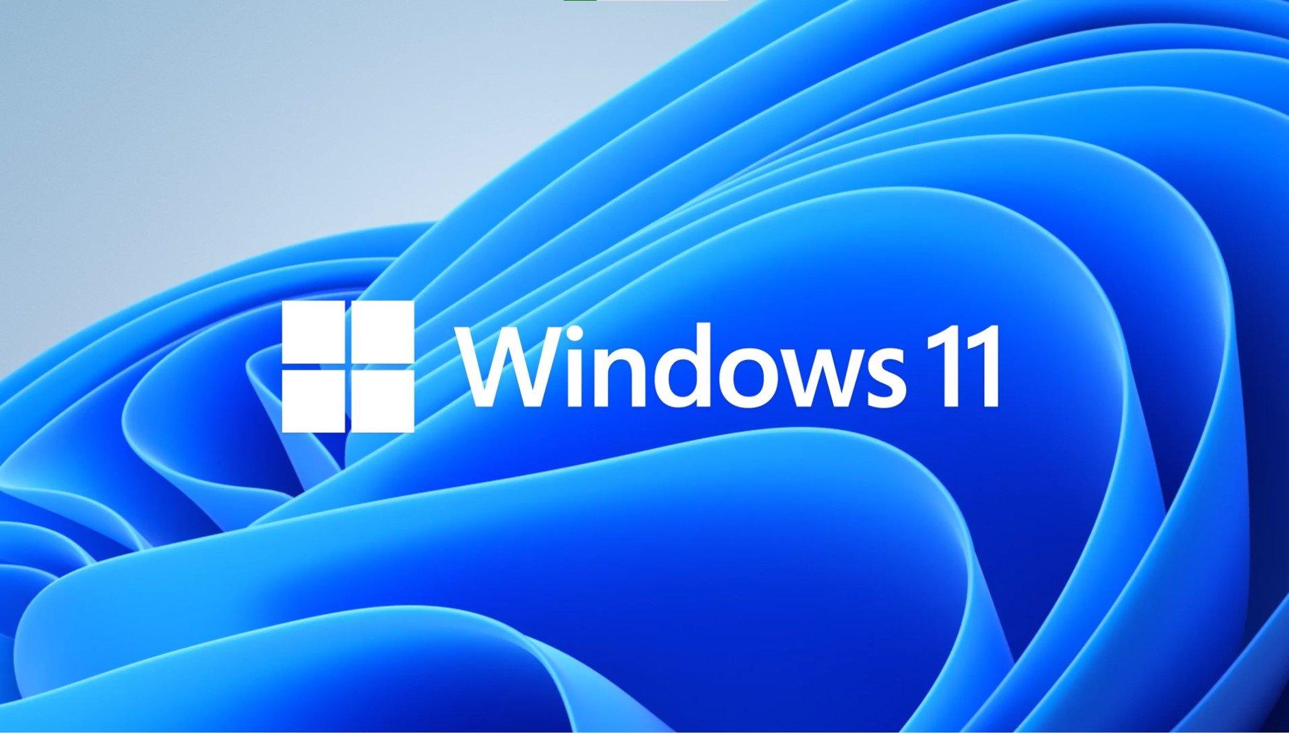 Titelbild mit Windows 11 Logo