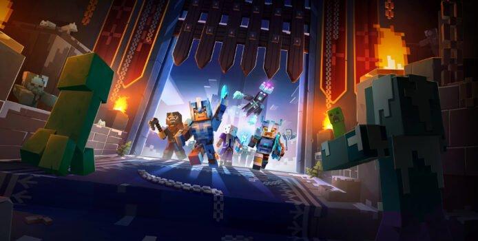 Minecraft Dungeons jetzt auf Steam verfügbar