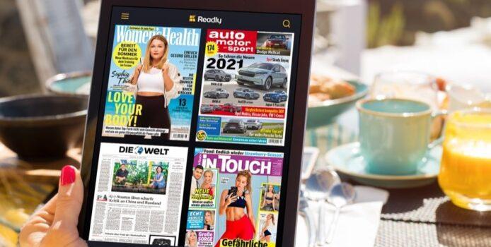 """Heute: 5.000 Zeitungen und Magazine für nur 1,99 testen – """"Readly Deal"""""""